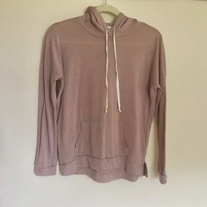 Forever 21 Long Sleeve Hooded Top